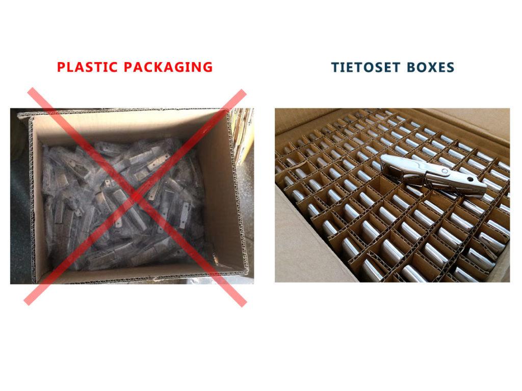 ympäristöystävällinen pakkaustapa