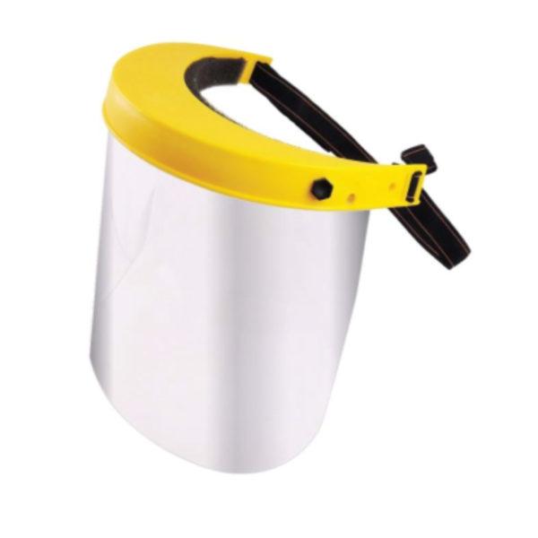 face shield PPE, kasvovisiiri
